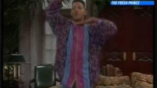 Fresh Prince Will Smith Dancing Part 1 (seasons 1-3)