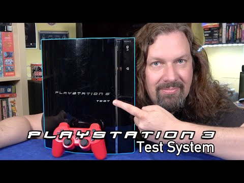 PS3 Test system - Plays PS1, PS2 & PS3 Games (All Regions) + Developer Tools. Is it WORTH IT?