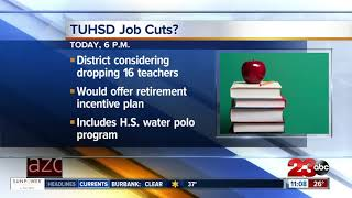 Taft Union High School District to vote on job cuts on Tues.