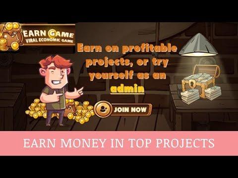 EARN GAME отзывы 2019, обзор, mmgp, статус платит + BOUNTY