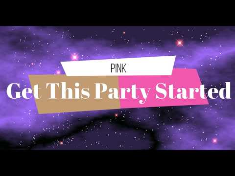 Get This Party Started by Pink Synth Cover