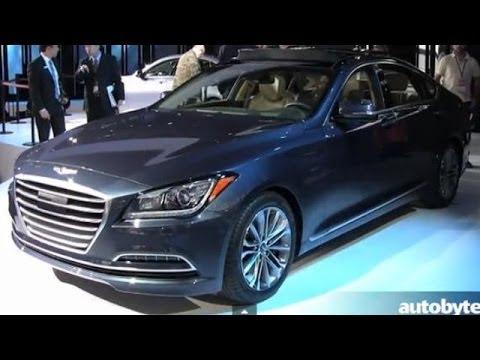 2015 Hyundai Genesis Sedan Preview Video @ Detroit Auto Show (NAIAS)