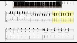 Beatles The   Wait GUITAR TABLATURE
