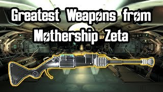 Fallout Fives - Greatest Weapons from Mothership Zeta