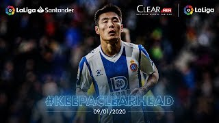 Wu Lei became the first Chinese player to score vs FC Barcelona while Gómez starred for Valencia