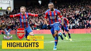 MATCH HIGHLIGHTS | Crystal Palace 1-1 Arsenal