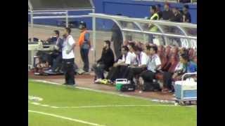 preview picture of video 'TMJ bersama JOHOR Fans @ Larkin Stadium, Johor Bahru # JDT # Johor FA'