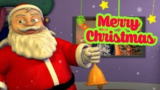 Christmas Song | Hindi Rhymes for Children | Jingle bells | Infobells