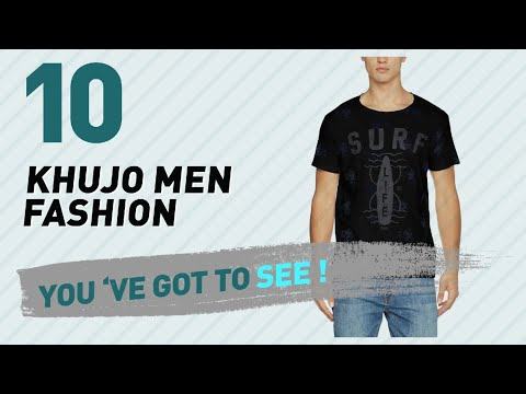 Khujo Men Fashion Best Sellers // UK New & Popular 2017