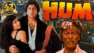 Hum हम (1991) Full Hindi Action Movie | Amitabh Bachchan, Rajnikanth, Govinda, Kimi Katkar - Download this Video in MP3, M4A, WEBM, MP4, 3GP