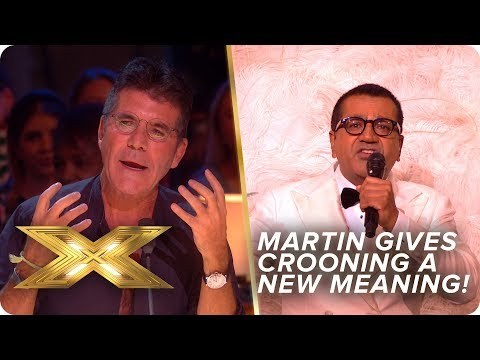 Martin Bashir gives crooning a whole new meaning! Danke Schoen! | Live Week 1 | X Factor: Celebrity