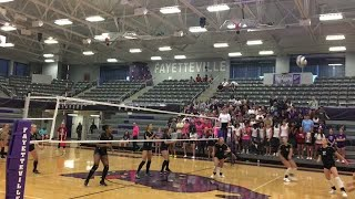 Bentonville uses early surge to sweep Fayetteville