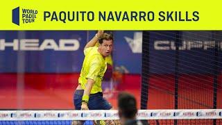 Paquito Navarro – skills – World Padel Tour