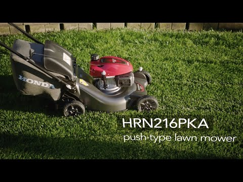 Honda Power Equipment HRN216PKA GCV170 Push in Coeur D Alene, Idaho - Video 1