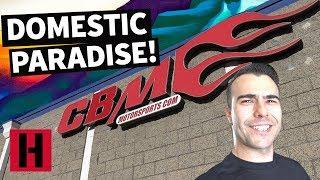 Josh Mason Travels to LS Heaven at CBM! A Build & Battle Field Trip!