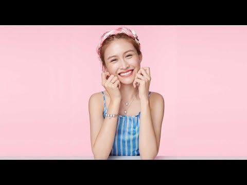 大馬甜姐兒黃若熙:戀愛的心情就是一種旅行 D2 愛次方情人節飾品系列,帶女孩們品嚐愛情的不同滋味