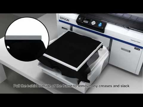 e3547f28a Epson SureColor SC-F2000 Direct to Garment (DTG) Textile Printer ...