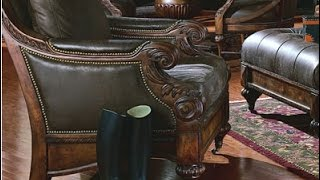 Tufted Leather Club Chair