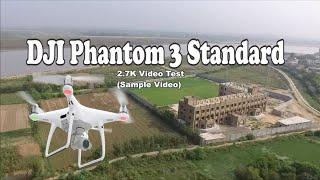 DJI Phantom 3 Standard 2.7K Video Test (Sample Video)