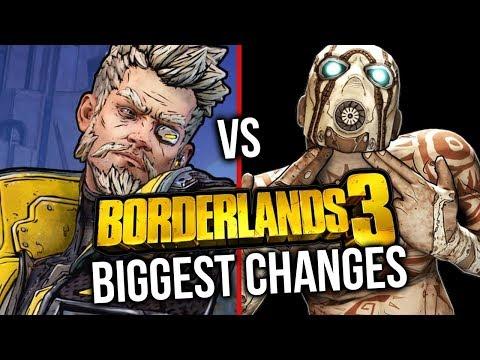 Borderlands 3 vs Borderlands 2: BIGGEST CHANGES