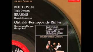 Brahms, Double Concerto (Oistrakh, Rostropovich)