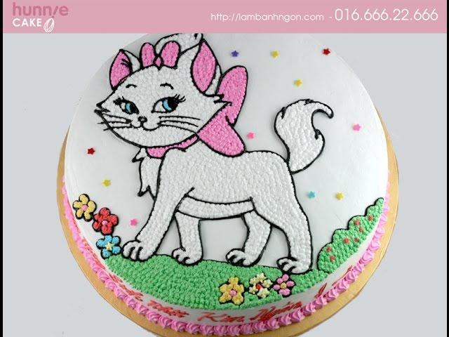Bánh sinh nhật tuổi Mèo, bánh kem, bánh gatô, bánh in ảnh, fondant về tuổi Mão