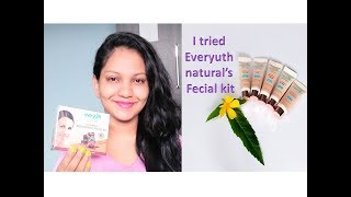 I tried everyuth natural's tan removal  brightenning fecial kit || Natural glow || Glow Gossip