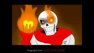 Undertale:  Papyrus no longer belives in you
