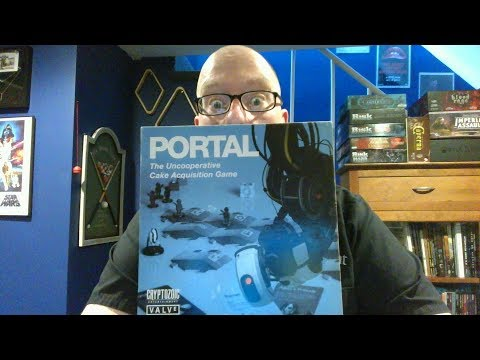 The Board Game Kaptain's review and tutorial for Portal: The Uncooperative Cake Acquisition Game
