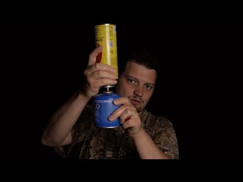 Ventil Kartuschen wiederbefüllen! (  how to refill your gas canister)