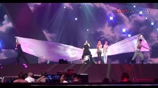 Nina Badrić - Nebo - 3D - Eurovision Song Contest - Croatia 2012 - Rehearsal