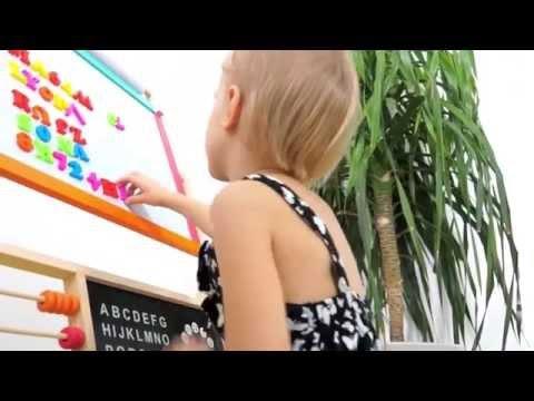 INFANTASTIC Kinder Standtafel mit Zubehör KDTF02
