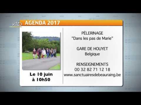 Agenda du 12 juin 2017
