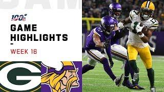 Packers vs. Vikings Week 16 Highlights   NFL 2019