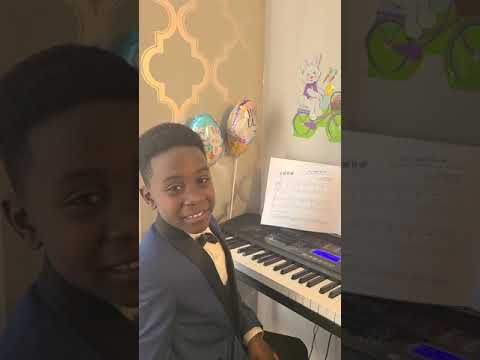 A student wishing my piano studio a happy Easter! This was from our most recent recital in the spring :). We did an Spring/Disney theme.