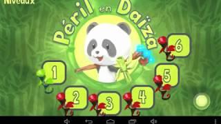 Peril en daiza, jeu Android créé sous Blender Game Engine et Gamekit