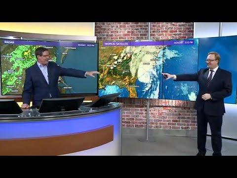 Tropics Update: Hurricane Isaias strengthens before landfall