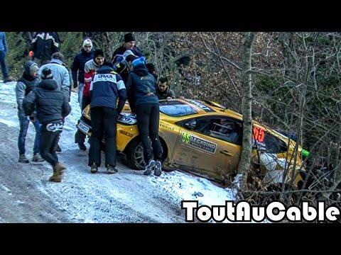 Rallye Monte Carlo 2017 - Crash & Mistakes by ToutAuCable [HD]