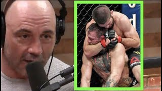 Joe Rogan - Conor Didn't Tap Prematurely Against Khabib