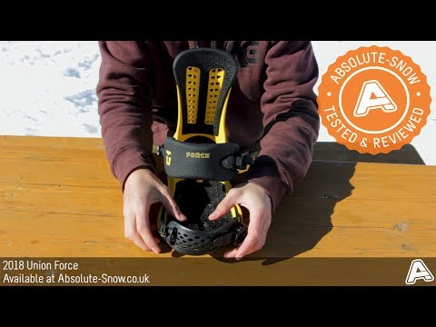 2017 / 2018 | Union Force Snowboard Bindings | Video Review