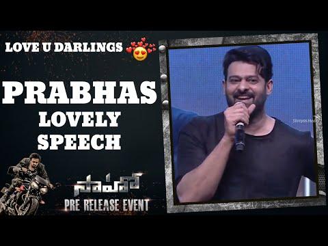 Prabhas Lovely Speech