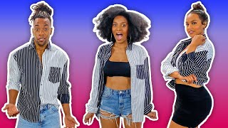 Millennial Men & Women Try Gender Neutral Clothing?! by Clevver Style