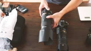 Unboxing Nikon AF-S NIKKOR 70-200mm F/2.8E FL ED VR Performance Compare W/80-200 AF-S
