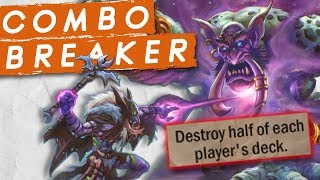 WE MADE A COMBO DESTROYER DECK! | Constructed | Hearthstone