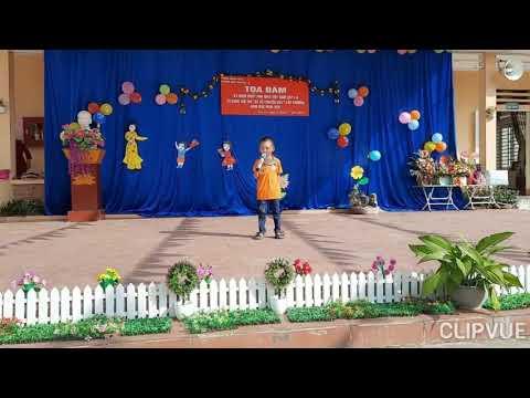 """Truyện """"Vì sao Thỏ cụt đuôi """"- Lớp 5 - 6 tuổi B- Trường MN Kim Lư, Na Rì, Bắc Kạn"""