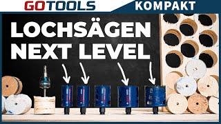 Die besten Lochsägen von Bosch heißen EXPERT: Herausragende Lebensdauer dank Carbide Technologie
