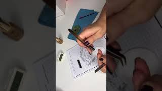 Наращивание ресниц / Формирование пучка в ручной техники