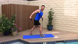 LIVE LOOK FEEL 33 - Full Body Resistance Band Workout by Jay Bradley