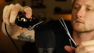 ASMR Fast Haircut and Shave Sounds For Sleep and Relaxation