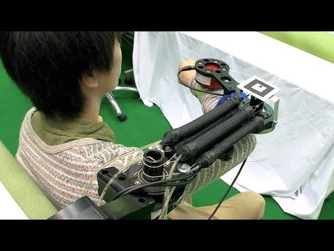 A Rehab Machine That Lets Patients See Their Muscles In Motion